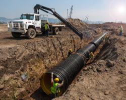 Pipe Laying Stream